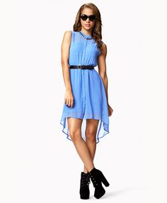 I've always wanted a high-low dress! So cute and unique :) I ABSOLUTELY LOVE THE COLOR! PERFECT FOR SUMMER :)!!