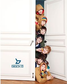 """Block B~! A South Korean hip-hop guy group that consists of seven members. Each member is unique and """"speshur"""" in their ways. Do you wanna B? BLOCK B!!!"""