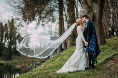 If places to get married near Dundee is what you're searching for, have a scroll through our photographs to find out about the most romantic venue in Dundee. Photograph by Burfly Photography.