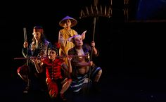 John Bell and Kim Carpenter's Theatre of Image spread a little 'Monkey Magic' in Sydney's West. #monkeylive