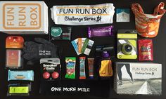 The Only Monthly Subscription Box For Runners Where You Earn a Finishers Medal!