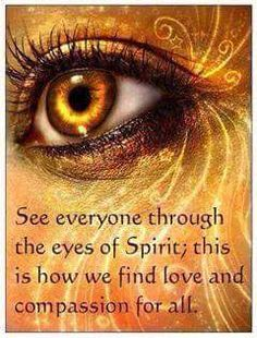 Through the Eyes of Spirit...
