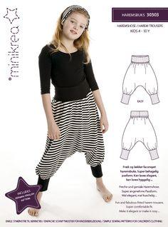 30303 Harem Trousers   MiniKrea