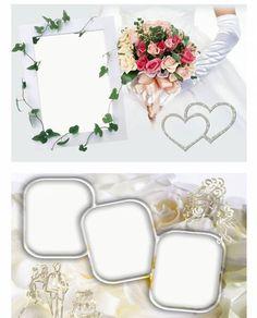 psd photoshop templates wedding frame | wedding | Free PSD Designs & Vectors - Part 7