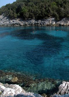 Dafnoudi beach, Fiskardo, Greece Copyright: Laura Torsellini