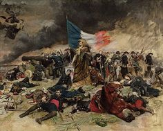 Jean-Louis Ernest Meissonier (French [Academicism, Classicism, Military painter, War painter] The Siege of Paris in Musée d'Orsay. The Athenaeum Inspirational Artwork, Art Occidental, The Siege, Academic Art, French Empire, Art Database, Historical Pictures, Military Art, Oeuvre D'art