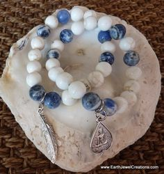 $49 - Harmony & Synergy Bracelet - Inspirational handmade gemstone jewellery Earth Jewel Creations Australia