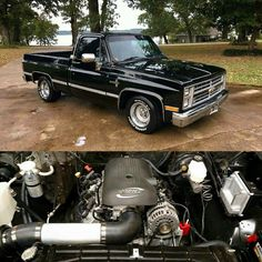 #Chevy #squarebody pickup #truck 1993 Chevy Silverado, 1986 Chevy Truck, Custom Chevy Trucks, C10 Trucks, Chevy Pickup Trucks, Chevy Pickups, Chevrolet Trucks, Muscle Truck, Muscle Cars
