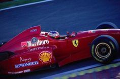 Michael Schumacher (Ferrari V10, F310). Pre-Season Test, Estoril, 1996