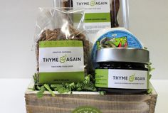 Thyme & Again   Artisan Cheese Basket