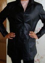 Kožená bunda - kabát - sako