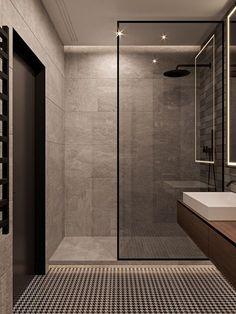 Kleine badkamer, open gevoel, schuifdeur #badkamer #gevoel #hotelbathroomdesigns #kleine #schuifdeur