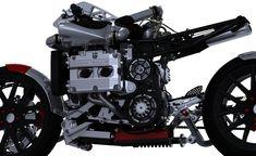 Kickboxer - Subaru WRX powered concept motorcycle