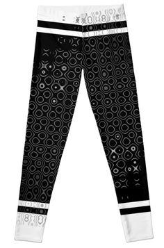 Leggings by dahleea Cotton Tote Bags, 2d, Chiffon Tops, Pajama Pants, Framed Prints, Leggings, Fashion, Moda, La Mode