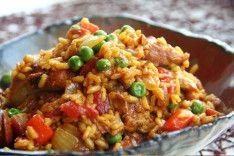 spanish chicken skillet dinner