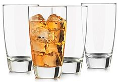 Libbey 4-Piece Classic Heavy Base Cooler Glass, 18-Ounce, Clear -- To view further for this item, visit the image link.