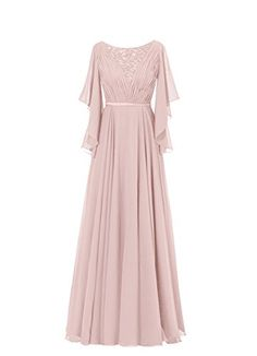 Diyouth Ruffles Sleeves Pleated Long Beading Mother of the Bride Dress >>> More infor at the link of image : mother of the bride dresses Abaya Fashion, Muslim Fashion, Modest Fashion, Fashion Dresses, Hijab Dress Party, Dress Brokat, Mode Abaya, Evening Dresses, Formal Dresses