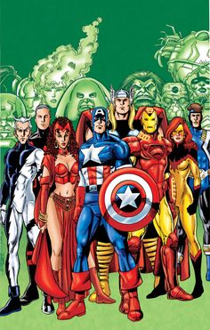 The Avengers by the amazing George Perez!