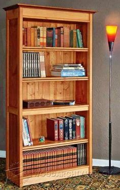 Hidden Compartment Bookshelf Plans - Furniture Plans and Projects - Woodwork, Woodworking, Woodworking Plans, Woodworking Projects Small Woodworking Projects, Woodworking Joints, Woodworking Furniture, Diy Wood Projects, Furniture Projects, Furniture Plans, Woodworking Crafts, Woodworking Plans, Woodworking Magazine