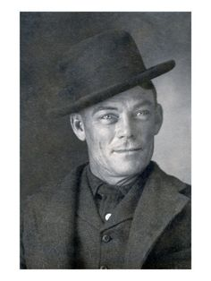 Jesse Linsley, a member of the Wild Bunch gang, 1902