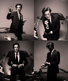 """Sometimes, I'm like, """"matt smith isn't really all that good looking,"""" then I find pictures like this . . . and I forget how to breathe"""