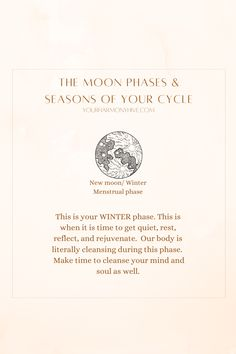 Healthy Beauty, Health And Beauty Tips, Cycle Of Life, Hormone Balancing, Body And Soul, Tarot Reading, Moon Phases, Make Time, Our Body
