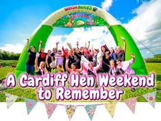 Enter into the crazy world of Welsh Games, located near to Cardiff. Its a craziest stag, hen, birthday weekend activity. Travel the link today to explore more on these fun loving activities.    #HenpartyCardiff #WelshGames