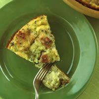 Broccoli-Cheese Pie -