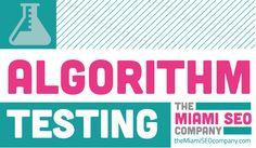 The Miami SEO Company shows how you can use Algorithm Testing. #SEO #InternetMarketing