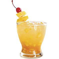 Football Themed Drinks: Alabama Yella Hamma