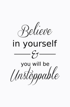motivational & inspirational quotes | Believe in yourself fitness motivation