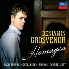 """""""Homages"""" de Benjamin Grosvenor (Decca Classiques)"""