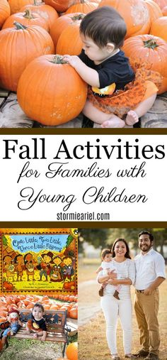 Activities to do with a baby and/or a toddler for fall