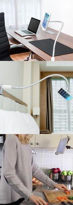 Super-Flexible Gooseneck Smartphone & Tablet Holder