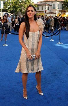 Megan Fox Long Straight Cut