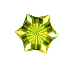 Green/Yellow Window Star by ktoll on Etsy