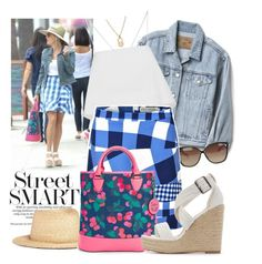"""""""Street syle - Reese Whiterspoon"""" by francyilaria ❤ liked on Polyvore featuring Gap, A.L.C., yunotme, Linda Farrow, Être Cécile, Draper James and Charlotte Russe"""