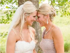 Gorgeous Mother-of-the-Bride Dresses Just in Time for Mother's Day!  | Photo by: Seneca Epley Photography | TheKnot.com