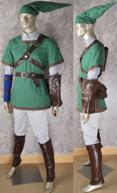 Legend of zelda Link cosplay costume Twilight Princess Dawn Princess A before Halloween costume gift