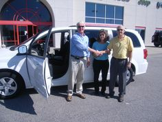 Tuesday October 9, Albert and his wife from Middlesex NC are taking home this 2012 Dodge Grand Caravan. Thank you Albert for your business. His salesman is Chris Vick