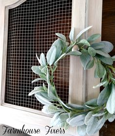 Create your own French Country hutch with Farmhouse Fixers. Bleached Wood, Furniture Makeover, Grapevine Wreath, Grape Vines, French Country, Painted Furniture, Country Hutch, Wreaths, Farmhouse