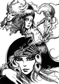 #Elfquest fan art by Sander Van Duijvenbode. www.elfquest.com
