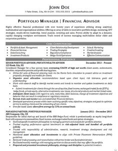 Insurance Manager Resume Example | Resume examples