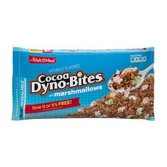 Made with real cocoa, Cocoa Dyno-Bites® with Marshmallows cereal is a chocolate lover's dream. This cereal is the perfect breakfast treat or snack anytime! Double Chocolate Brownies, Chocolate Marshmallows, Golden Puffs Cereal, Malt O Meal, Marshmallow Cereal, Perfect Breakfast, Breakfast Ideas, Best Cereal, Crunch Cereal