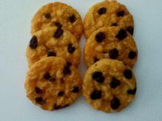 1/2 Dozen Faux Chocolate Chip Cookies.