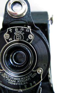 Vintage camera photography print  5x7 fine art by BrushandPixel, $15.00