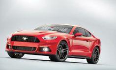 2015 #Mustang rendering ... via CarandDriver.com. #2015Mustang