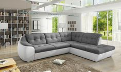 Aberdeen Furniture offers modern home furniture: wardrobes, beds, corner sofa beds, modern living room sets, at the lowest price. Corner Sofa Bed Uk, Sofa Bed Size, Contemporary Sofa, Modern Sofa, Living Modern, Sofa Design, Cnc, Sofa Bed With Storage, Elegant Sofa