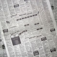 Clever Newspaper Ad That Hides A 3D Kitchen