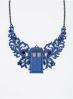 Torrid: Doctor Who Statement Necklace.